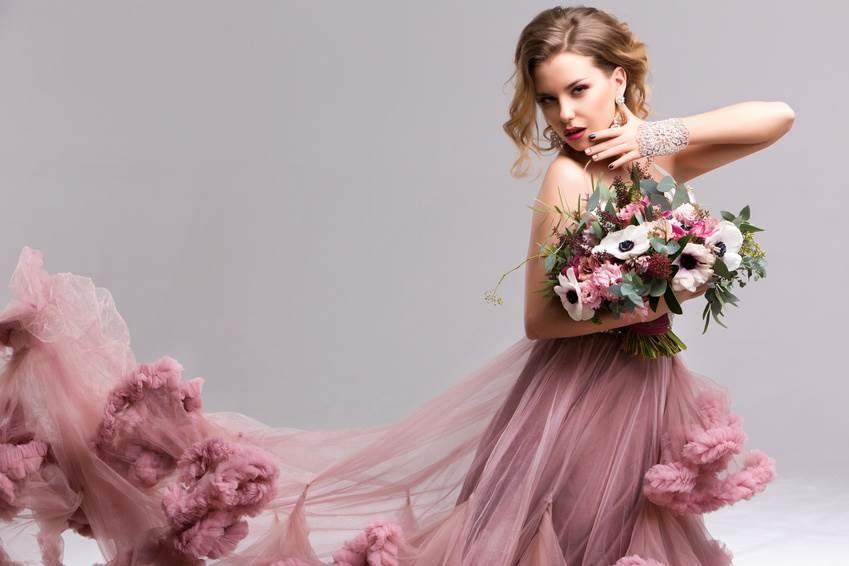 Brautkleid rosa - Fahed Couture in Bückeburg